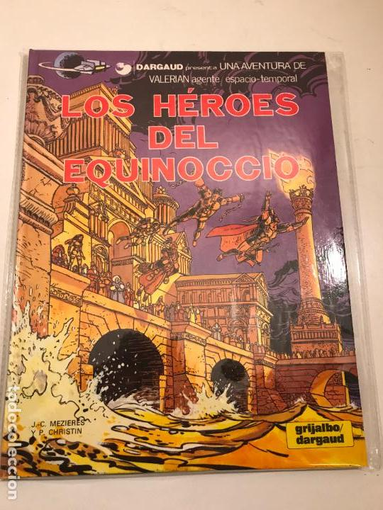 VALERIAN Nº 7. LOS HEROES DEL EQUINOCCIO. GRIJALBO 1981 (Tebeos y Comics - Grijalbo - Valerian)
