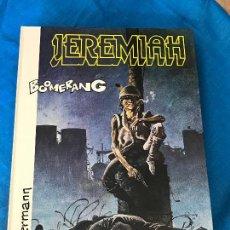 Cómics: JEREMIAH - Nº 11 BOOMERANG - EDITORIAL GRIJALBO - TAPA DURA . Lote 84235120