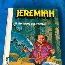 Cómics: JEREMIAH NUMERO 9 EL INVIERNO DEL PAYASO HERMANN EDICIONES JUNIOR 1987. Lote 84235748