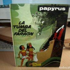Cómics: PAPYRUS - LA TUMBA DEL FARAÓN - Nº 4 - TAPA DURA - EDICIONES JUNIOR. Lote 84254236