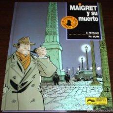 Cómics: MAIGRET Y SU MUERTO - O.REYNAUD/PH. WURN - ED. JUNIOR/GRIJALBO MONDADORI - 1993. Lote 84315904