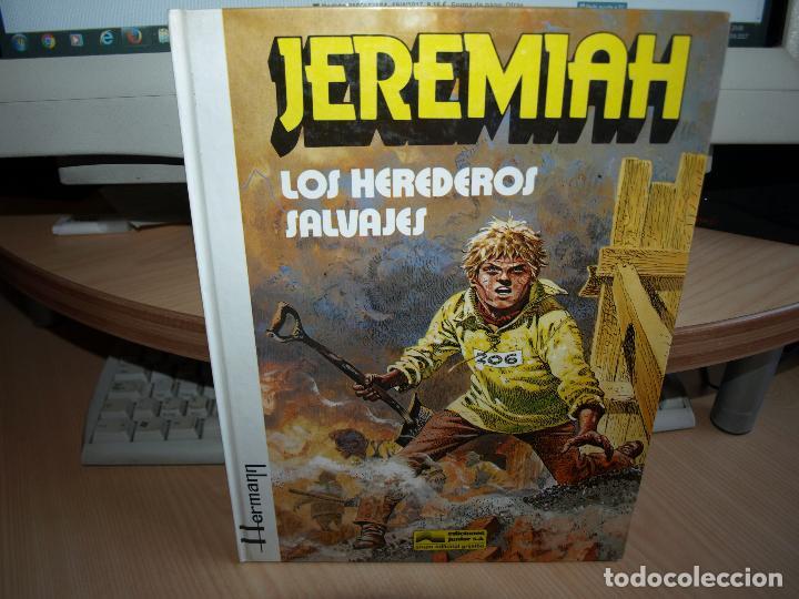 JEREMIAH - LOS HEREDEROS SALVAJES - NÚMERO 3 - TAPA DURA - EDICIONES JUNIOR (Tebeos y Comics - Grijalbo - Jeremiah)