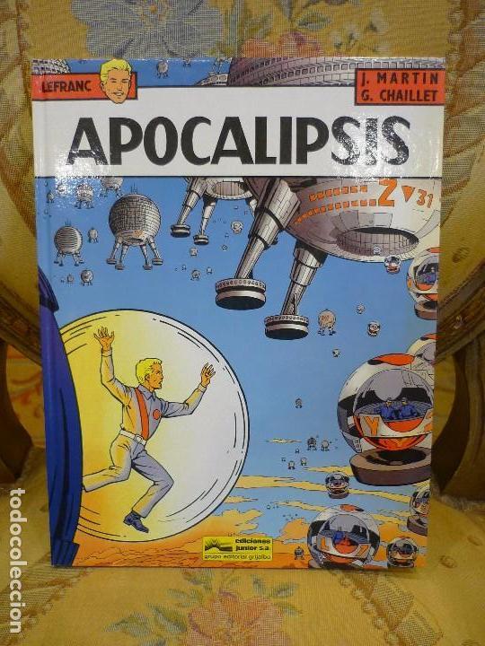 APOCALIPSIS, DE JACQUES MARTIN Y GILLES CHAILLET. LEFRANC Nº 10, 1ª EDICIÓN 1.989. (Tebeos y Comics - Grijalbo - Lefranc)