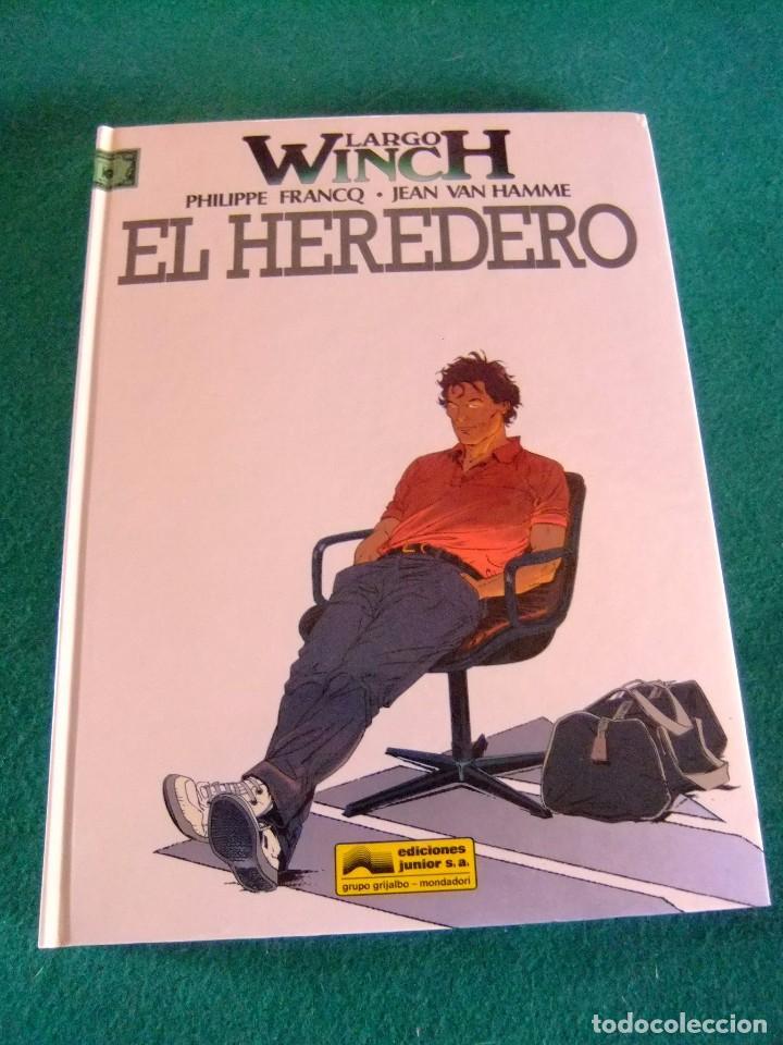 LARGO WINCH Nº 1 EL HEREDERO EDICIONES JUNIOR (Tebeos y Comics - Grijalbo - Largo Winch)