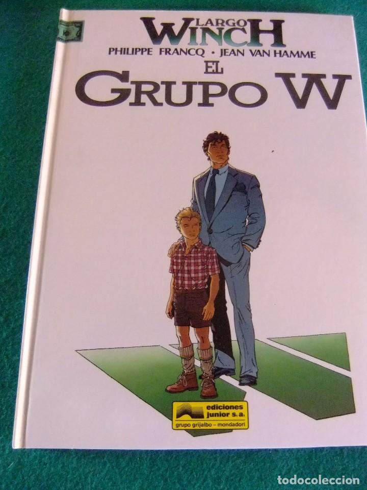 LARGO WINCH Nº 2 EL GRUPO W EDICIONES JUNIOR (Tebeos y Comics - Grijalbo - Largo Winch)