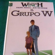 Cómics: LARGO WINCH Nº 2 EL GRUPO W EDICIONES JUNIOR. Lote 84580012