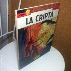 Cómics: LEBLANC Nº 9 / LA CRIPTA - JACQUES MARTIN - GILLES CHAILLET - EDICIONES JUNIOR - TAPA DURA. Lote 84718652