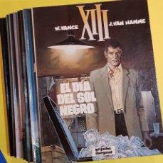 Cómics: XIII, DE WILLIAM VANCE Y VAN HAMME, TOMOS 1 AL 10 (GRIJALBO/DARGAUD, 1987-1994) PRIMERA EDICIÓN. Lote 84777628