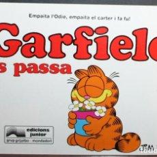 Cómics: GARFIELD Nº 12 - JIM DAVIS - ES PASSA - ED. JUNIOR/GRIJALBO - EN CATALÁN. Lote 84818828
