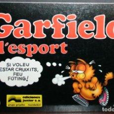 Cómics: GARFIELD Nº 10 - JIM DAVIS - I L'ESPORT - ED. JUNIOR/GRIJALBO - EN CATALÁN. Lote 84819100