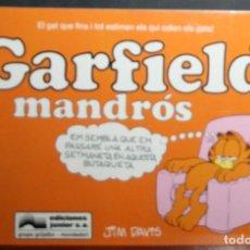 Cómics: GARFIELD Nº 8 - JIM DAVIS - MANDRÓS - ED. JUNIOR/GRIJALBO - EN CATALÁN. Lote 84819560