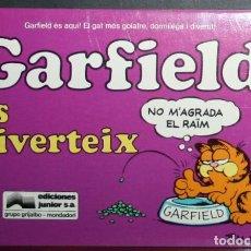 Comics : GARFIELD Nº 4 - JIM DAVIS - ES DIVERTEIX - ED. JUNIOR/GRIJALBO - EN CATALÁN. Lote 84820104