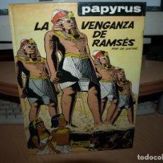 Cómics: PAPYRUS - LA VENGANZA DE RAMSES - TAPA DURA - ENVIO GRATIS. Lote 84857148