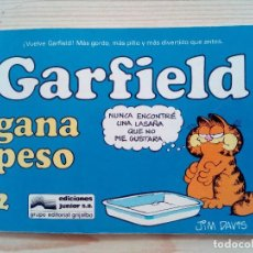 Cómics: GARFIELD GANA PESO - NUMERO 2. Lote 84971780