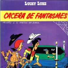Cómics: MORRIS & LO HARTOG VAN BANDA - LUCKY LUKE Nº 54 - CACERA DE FANTASMES - ED. JUNIOR 1994 - MOLT RAR. Lote 85081880
