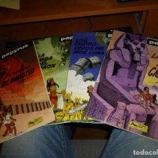 Cómics: PAPYRUS, LOS NUMEROS 4 - 6 - 8 - 9 LAS LAGRIMAS DEL GIGANTE, IMPECABLES DE CONSERVACION. Lote 85197860