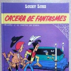 Cómics: LUCKY LUKE - CACERA DE FANTASMES - GRIJALBO - CATALÁN CATALÀ. Lote 85262132