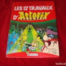 Cómics: LAS 12 PRUEBAS DE ASTERIX LES 12 TRAVAUX D ASTERIX DE DARGAUD COMIC EN FRANCES 1990. Lote 85333052