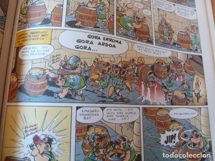 Cómics: ASTÉRIX EN BRETAÑA. EN EUSKERA. TAPAS DURAS. ELKAR 1990. MAGNÍFICO ESTADO - Foto 3 - 85948176