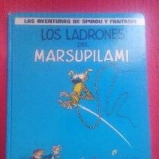 Cómics: SPIROU Y FANTASIO LOS LADRONES DEL MARSUPILAMI EL ESTADO ES NORMAL. Lote 85977608