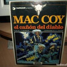 Cómics: MAC COY - EL CAÑON DEL DIABLO - Nº 9 - TAPA DURA - GRIJALBO - ENVIO GRATIS. Lote 86047492