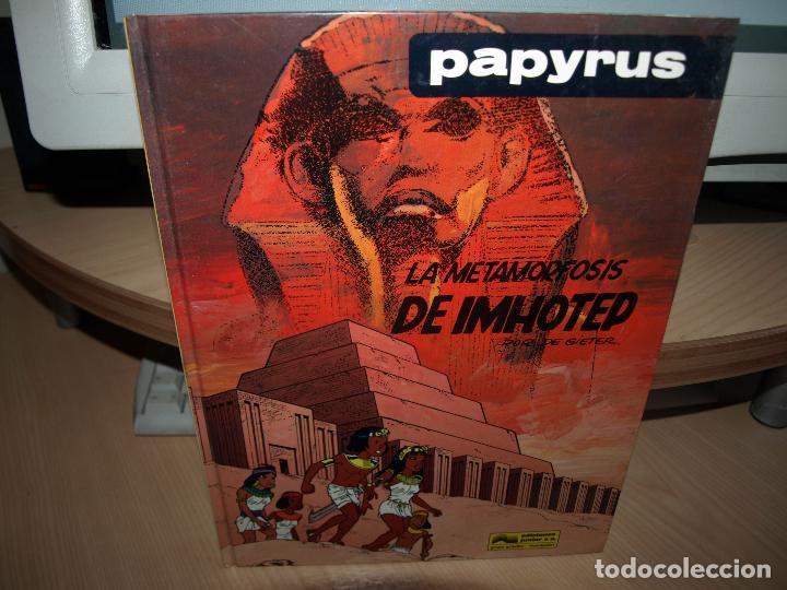 PAPYRUS - LA METAMORFOSIS DE IMHOTEP - TAPA DURA - JUNIOR - ENVIO GRATIS (Tebeos y Comics - Grijalbo - Papyrus)