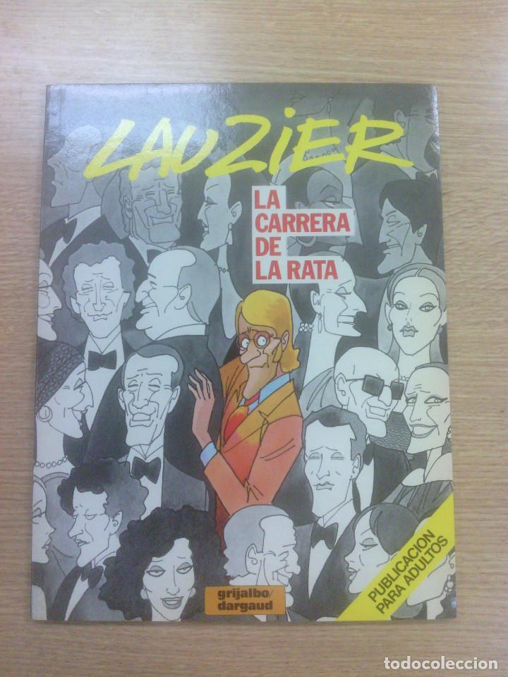LAUZIER #5 LA CARRERA DE LA RATA (Tebeos y Comics - Grijalbo - Otros)