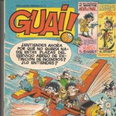 Cómics: GUAI ¡!. Nº 3. EDICIONES JUNIOR/GRIJALBO. (ST/.). Lote 86248504