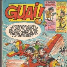 Cómics: GUAI ¡!. Nº 3. EDICIONES JUNIOR/GRIJALBO. (ST/.). Lote 86248688