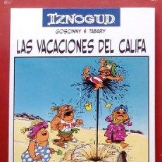 Cómics: IZNOGUD 3 - LAS VACACIONES DEL CALIFA DE RENE GOSCINNY Y TABARY- PLANETA 2005. Lote 86292132