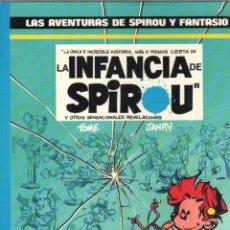 Cómics: LAS AVENTURAS DE SPIROU Y FANTASIO - Nº 24 - LA INFANCIA DE SPIROU -FRANQUIN-ED.JUNIOR/GRIJALBO. Lote 86469868