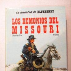 Cómics: UNA AVENTURA DEL TENIENTE BLUEBERRY-LOS DEMONIOS DEL MISSOURI-Nº25-DARGAUD. Lote 118348502