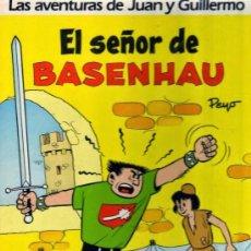 Cómics: LAS AVENTURAS DE JUAN Y GUILLERMO Nº 1 - EL SEÑOR DE BASENHAU - JUNIOR GRIJALBO. Lote 86570644