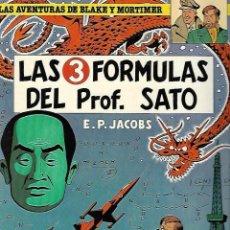 Cómics: LAS AVENTURAS DE BLAKE Y MORTIMER. 8. LAS 3 FORMULAS DEL PROF. SATO. EDGAR P. JACOBS. 1981. Lote 86710272