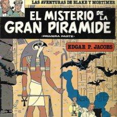 Cómics: LAS AVENTURAS DE BLAKE Y MORTIMER. 1. EL MISTERIO DE LA GRAN PIRAMIDE. 1º PARTE. EDGAR P. JACOBS.. Lote 86710568