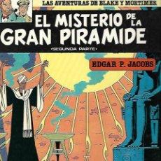 Cómics: LAS AVENTURAS DE BLAKE Y MORTIMER. 2. EL MISTERIO DE LA GRAN PIRAMIDE. 2º PARTE. EDGAR P. JACOBS.. Lote 86710676