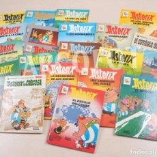 Cómics: 19 TOMOS DE ASTERIX - UDERZO - GOSCINNY - GRIJALBO / DARGAUD - 1985 - 1991. Lote 86754420