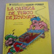 Cómics: LA CABEZA DE TURCO DE IZNOGUD - GOSCINNY - TABARY - GRIJALBO DARGAUD - Nº 6 EDICIONES JUNIOR - 1979. Lote 86770296