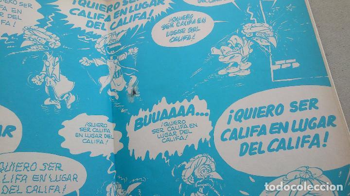 Cómics: LA CABEZA DE TURCO DE IZNOGUD - GOSCINNY - TABARY - GRIJALBO DARGAUD - Nº 6 EDICIONES JUNIOR - 1979 - Foto 2 - 86770296