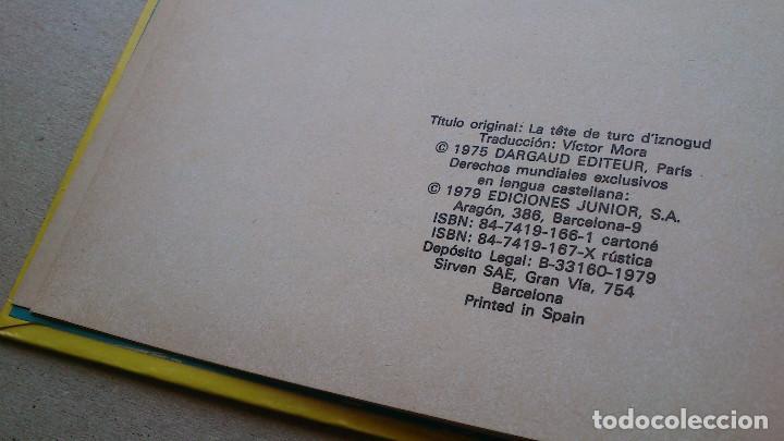 Cómics: LA CABEZA DE TURCO DE IZNOGUD - GOSCINNY - TABARY - GRIJALBO DARGAUD - Nº 6 EDICIONES JUNIOR - 1979 - Foto 4 - 86770296