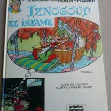 Cómics: IZNOGOUD EL INFAME - GOSCINNY - TABARY - GRIJALBO DARGAUD Nº 7 - 1981 - NUEVO. Lote 86775192