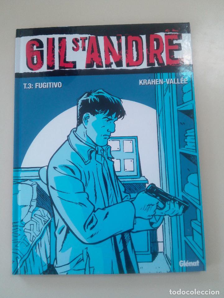 GIL ST ANDRE-LOTE 3 COMICS-T.2:LA CARA OCULTA/T 1: UNA EXTRAÑA DESAPARICION/T 3: FUGITIVO-J. CHARLES (Tebeos y Comics - Grijalbo - XIII)