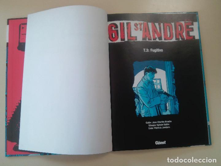 Cómics: GIL ST ANDRE-LOTE 3 COMICS-T.2:LA CARA OCULTA/T 1: UNA EXTRAÑA DESAPARICION/T 3: FUGITIVO-J. CHARLES - Foto 2 - 86854292