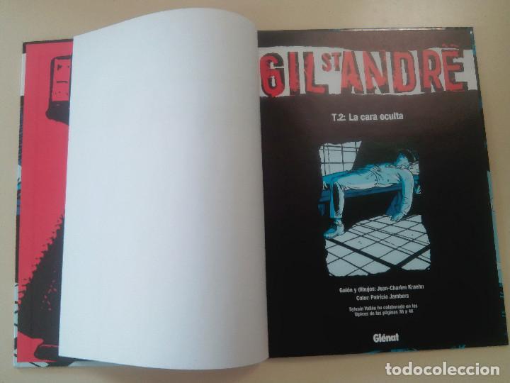 Cómics: GIL ST ANDRE-LOTE 3 COMICS-T.2:LA CARA OCULTA/T 1: UNA EXTRAÑA DESAPARICION/T 3: FUGITIVO-J. CHARLES - Foto 4 - 86854292