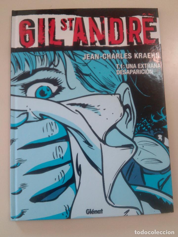 Cómics: GIL ST ANDRE-LOTE 3 COMICS-T.2:LA CARA OCULTA/T 1: UNA EXTRAÑA DESAPARICION/T 3: FUGITIVO-J. CHARLES - Foto 5 - 86854292