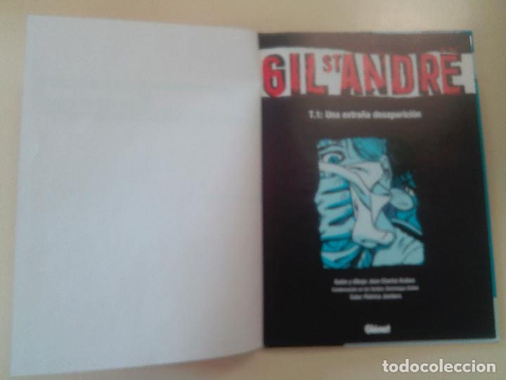 Cómics: GIL ST ANDRE-LOTE 3 COMICS-T.2:LA CARA OCULTA/T 1: UNA EXTRAÑA DESAPARICION/T 3: FUGITIVO-J. CHARLES - Foto 6 - 86854292