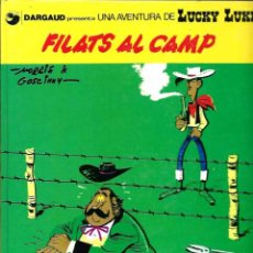 Cómics: MORRIS - LUCKY LUKE Nº 31 - FILATS AL CAMP - GRIJALBO DARGAUD 1989 - EN CATALA - TAPA DURA. Lote 86877340