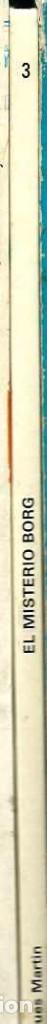 Cómics: JACQUES MARTIN - LEFRANC Nº 3 - EL MISTERIO BORG - EDICIONES JUNIOR 1986 - Foto 2 - 86877504