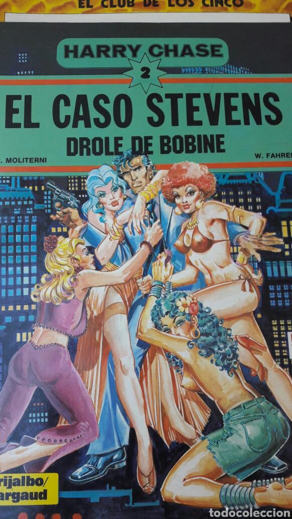 HARRY CHASE. 2. EL CASO STEVENS. GRIJALBO/DARGAUD. (Tebeos y Comics - Grijalbo - Otros)