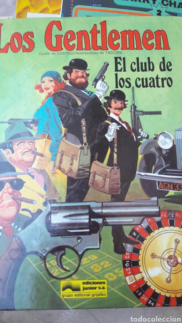 LOS GENTLEMEN. EL CLUB DE LOS CUATRO. EDICIONES JUNIOR. (Tebeos y Comics - Grijalbo - Otros)